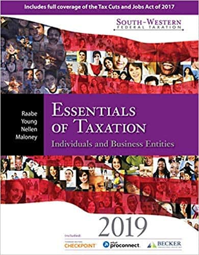 South-Western Federal Taxation 2019: Essentials of Taxation: Individuals and Business Entities (22nd Edition) - eBook