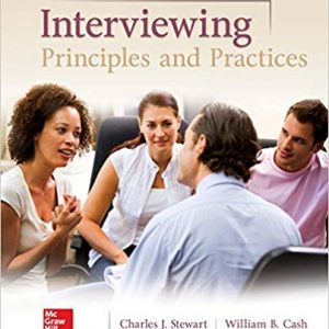 Interviewing: Principles and Practices (15th Edition) - eBook