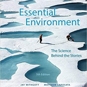 Essential Environment: The Science behind the Stories (5th Edition) - eBook