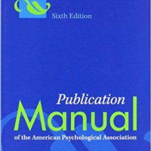 Publication Manual of the American Psychological Association (6th Edition) - eBook
