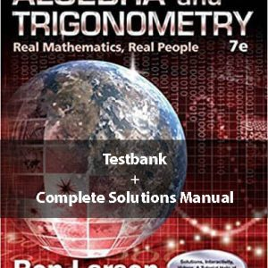Algebra-and-Trigonometry-Real-Mathematics-Real-People-7th-Edition-solutions-testbank