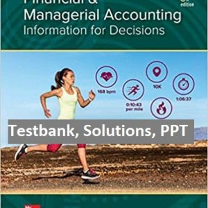 Financial-and-Managerial-Accounting-8th-Edition-testbank