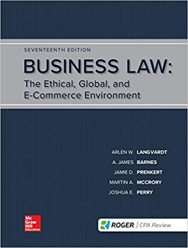 Business Law (17th Edition) - eBook