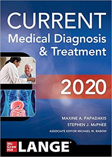 CURRENT Medical Diagnosis and Treatment 2020 (59th Edition) -eBook