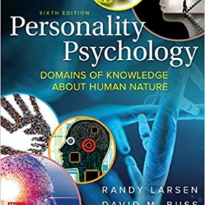 Personality Psychology: Domains of Knowledge About Human Nature (6th Edition) - eBook