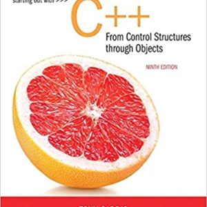 Starting Out with C++ from Control Structures to Objects (9th Edition) - eBook