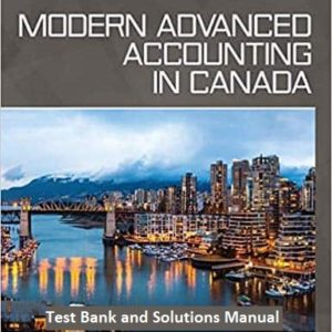 Test-Bank-and-Solutions-Modern-Advanced-Accounting-in-Canada-9e