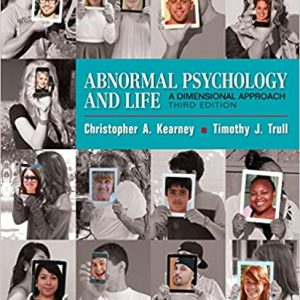 Abnormal Psychology and Life - A Dimensional Approach (3rd Edition) - eBook