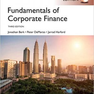 Fundamentals of Corporate Finance (3rd Global Edition) - eBook