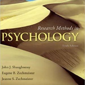 Research Methods In Psychology (10th Edition) - eBook