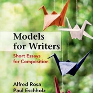 Models for Writers: Short Essays for Composition (12th Edition) - eBook