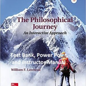The Philosophical Journey An Interactive Approach 7e testbank