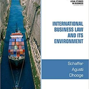 International Business Law and Its Environment 9e