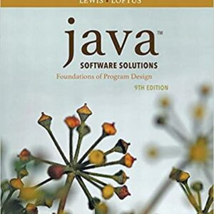 Java Software Solutions (9th Edition) - eBook