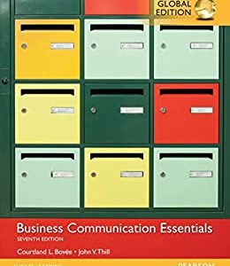 Business Communication Essentials (7th Edition-Global) - eBook