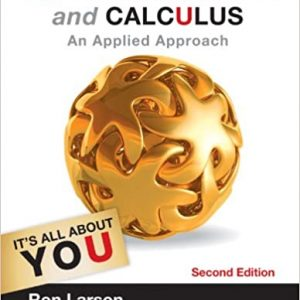College Algebra and Calculus: An Applied Approach (2nd Edition) - eBook