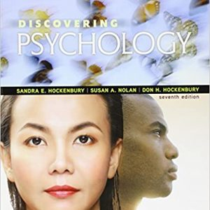 Discovering Psychology 7th edition pdf