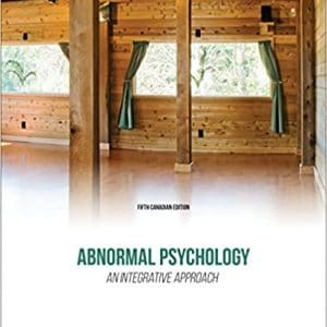Abnormal Psychology: An Integrative Approach (5th Edition) - eBook