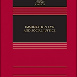 Immigration Law and Social Justice - eBook