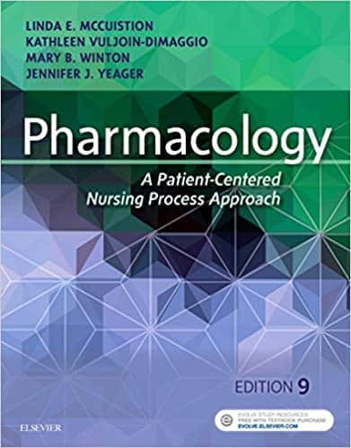 Pharmacology: A Patient-Centered Nursing Process Approach (9th Edition) - eBook