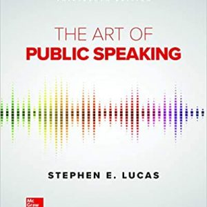 The Art of Public Speaking (13th Edition) - eBook