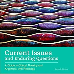 Current Issues and Enduring Questions 11th edition pdf