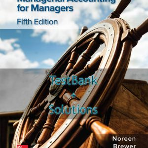 9781260480337 - Managerial Accounting for Managers 5e testbank