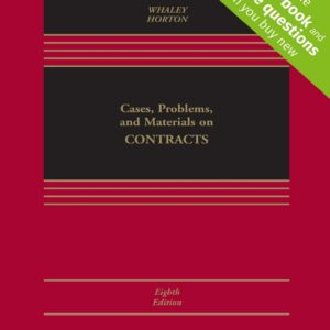 Cases, Problems, and Materials on Contracts (8th Edition) - eBook