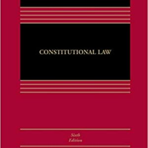 Constitutional Law (6th Edition) - eBook