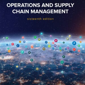 Operations and Supply Chain Management (16th Edition) - eBook