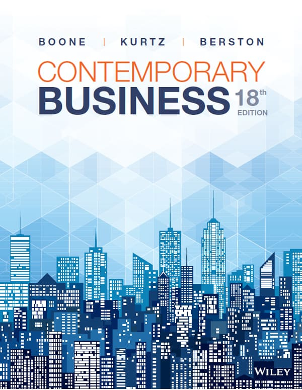 Contemporary Business (18th Edition) - eBook