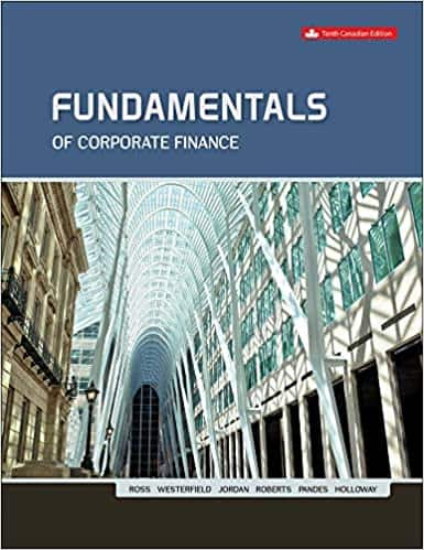 Fundamentals Of Corporate Finance (10th Edition Canadian) - eBook