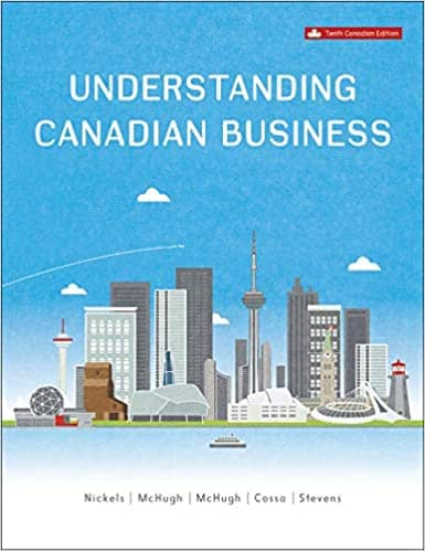 Understanding Canadian Business (10th Edition) - eBook