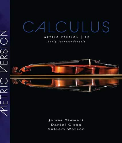 Calculus: Early Transcendentals (Metric Edition-9th Edition) - eBook