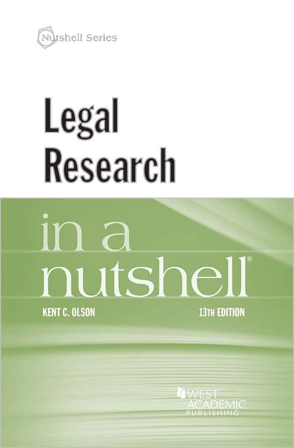 Legal Research in a Nutshell (13th Edition) - eBook