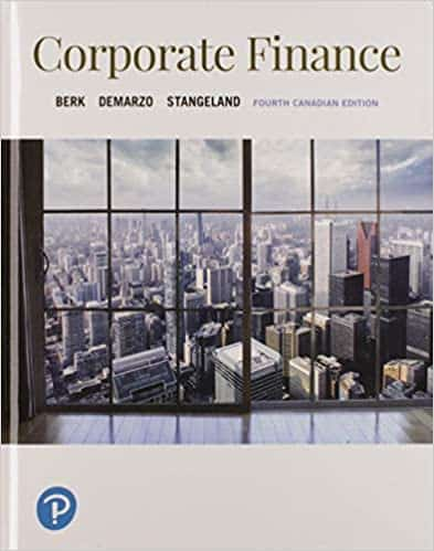 Corporate Finance (4th Canadian Edition) - eBook