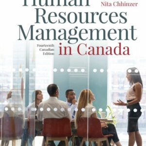 Human Resources Management in Canada (14th Canadian Edition) - eBook