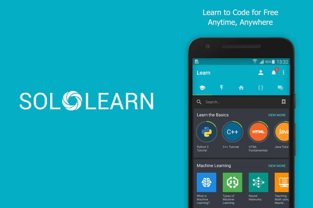 solo learn - learn to code anytime, anywhere for free